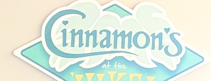 Cinnamon's is one of Hawaii 2019🌺.