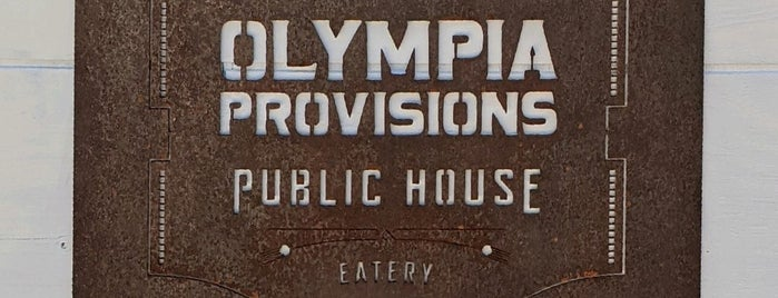 Olympia Provisions Public House is one of KID FRIENDLY.