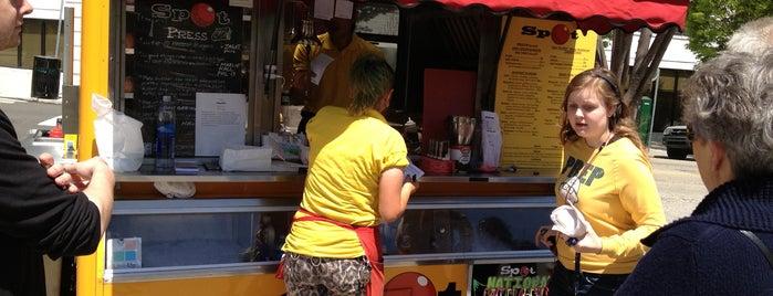 Spot Gourmet Burgers, Steaks, & Pork is one of Philly Food Trucks.