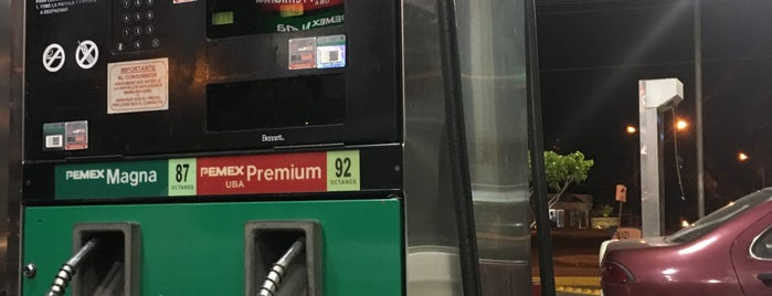 Gasolinera PEMEX is one of Rodさんのお気に入りスポット.