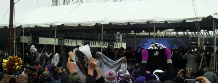 Ravens Sendoff Rally is one of JODY & MY PLACES IN MD REISTERSTOWN, OWINGS MILLS,.