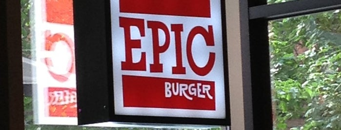 Epic Burger is one of Chicago.