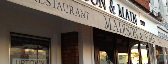 Madison & Main (formerly New Paradise Cafe) is one of Diplomático's The Hamptons.
