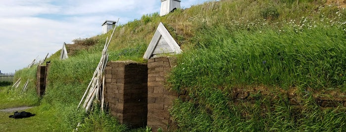 L'Anse aux Meadows National Historic Site is one of O Canada!.