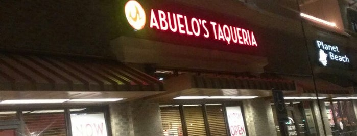 Abuelo's Taqueria is one of Lieux qui ont plu à Amy.