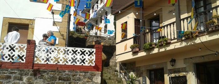 Lastres is one of Les chemins de Compostelle.