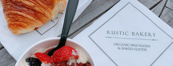 Rustic Bakery is one of 2018.
