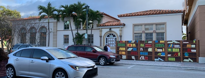Lake Worth Library is one of JL.
