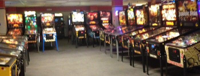 Pinballz Arcade is one of Austin Favorites.