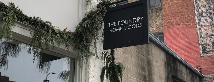 The Foundry Home Goods is one of Minnie.