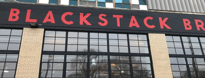 BlackStack Brewing is one of Lieux qui ont plu à Kristen.