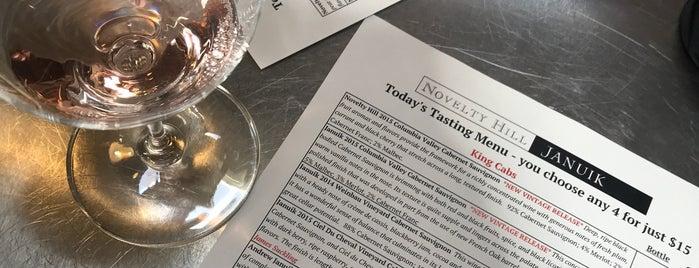 Novelty Hill / Januik Winery is one of Tempat yang Disukai Kristen.