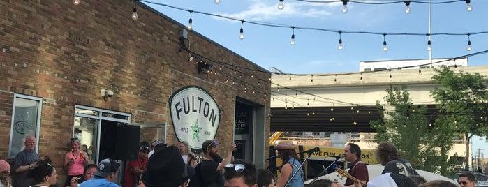 Fulton Brewing Company is one of Posti che sono piaciuti a Kristen.