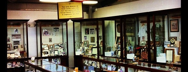 NC Baseball Museum is one of Science, Art & History.