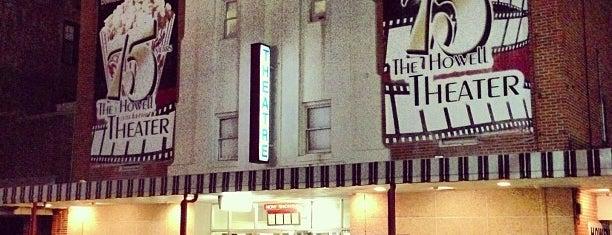 Howell Theatre is one of Gespeicherte Orte von Justin.