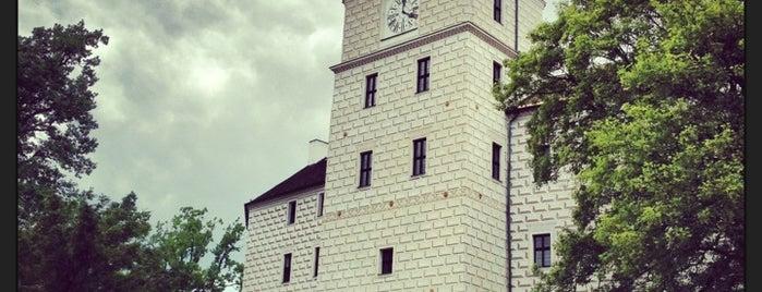 Státní zámek Březnice | Castle of Breznice is one of Orlik 2017-07.