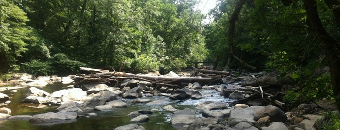 Rock Creek Park is one of Washington D.C..