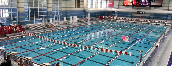 Corwin M. Nixon Aquatic Center is one of Miami U.
