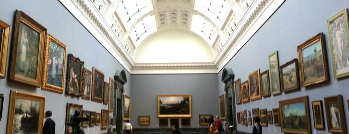 Tate Britain is one of Stevenson's Favorite Art Museums.
