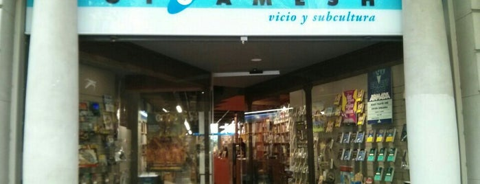 Librería Gigamesh is one of Barcelona.