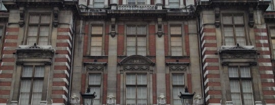 Blythe House is one of Top 10 Spy Sites in London.