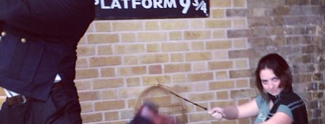 Platform 9¾ is one of London, UK (attractions).