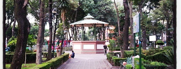 Parque Pombo is one of My places.