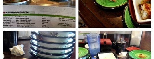 Kula Revolving Sushi Bar is one of Mayleaさんのお気に入りスポット.