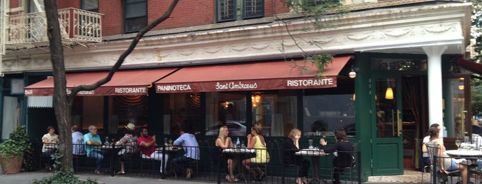Sant Ambroeus West Village is one of nyc.