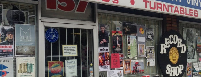 Randy's Records is one of Record Stores Worldwide.