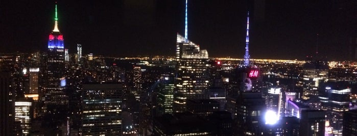Top of the Rock Observation Deck is one of For the Love of Heights.