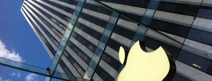 Apple Fifth Avenue is one of Manhattan Favorites.