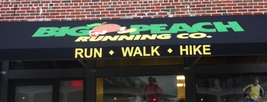 Big Peach Running Co. is one of Lieux qui ont plu à Sherry.