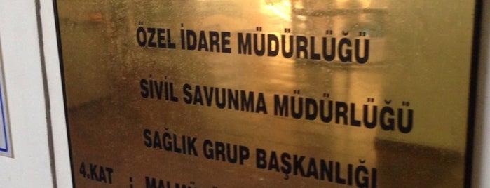 Fatih Kaymakamlığı is one of Tempat yang Disimpan Gizemli.