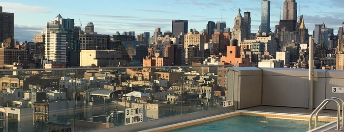 Mr. Purple is one of NYC's Best Rooftops.