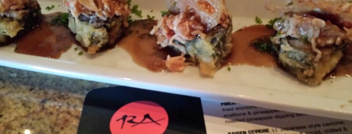 RA Sushi is one of Places I've Reviewed.