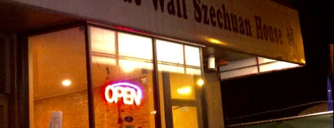 Great Wall Szechuan is one of John 님이 저장한 장소.