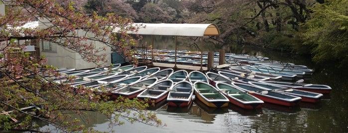 井の頭公園ボート場 is one of Posti che sono piaciuti a Masahiro.