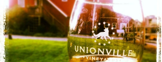 Unionville Vineyards is one of Local Wineries/Vineyards.