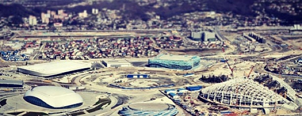 Sochi Olympic Park is one of Orte, die Kesena gefallen.