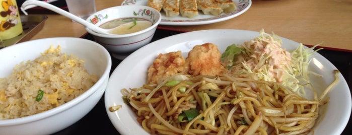 餃子の王将 与謝野店 is one of สถานที่ที่ Shigeo ถูกใจ.