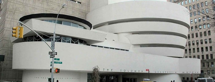Solomon R Guggenheim Museum is one of Frank Lloyd Wright: Cross-Country Tour.