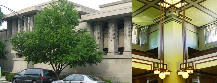 Frank Lloyd Wright's Unity Temple is one of Frank Lloyd Wright: Cross-Country Tour.