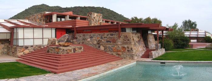 Taliesin West is one of Frank Lloyd Wright: Cross-Country Tour.