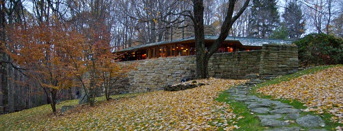 Kentuck Knob is one of Frank Lloyd Wright: Cross-Country Tour.