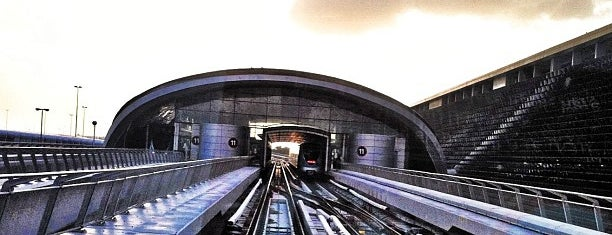Rashidiya Metro Station is one of Must Visit Dubai #4sqCities.