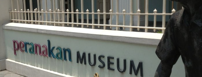 Peranakan Museum is one of SG.