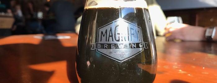 Magnify Brewing is one of Orte, die Cole gefallen.