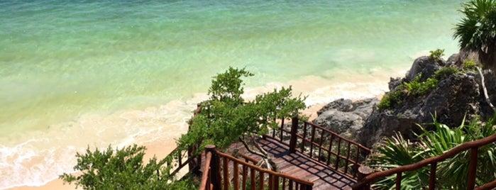 Playa Ruinas de Tulum is one of Tulum 2018.