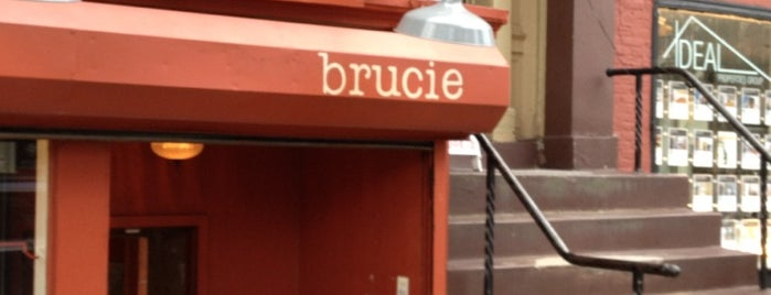 Brucie is one of Favorite NYC Restaurants.